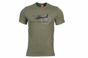 T-SHIRT PENTAGON HELICOPTER OD