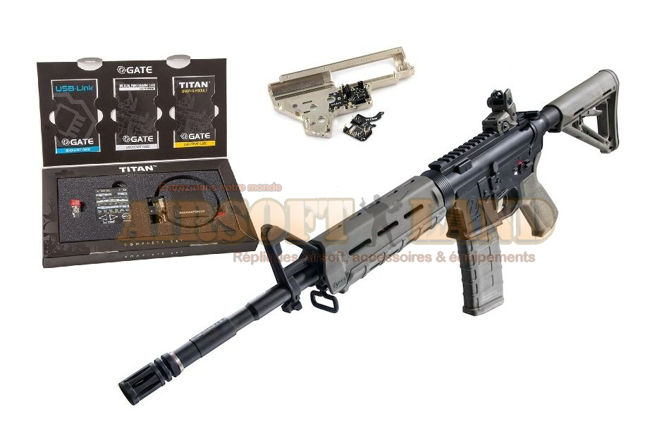 G&P M4 Carbine MOE G&P TITAN GATE custom par airsoft land