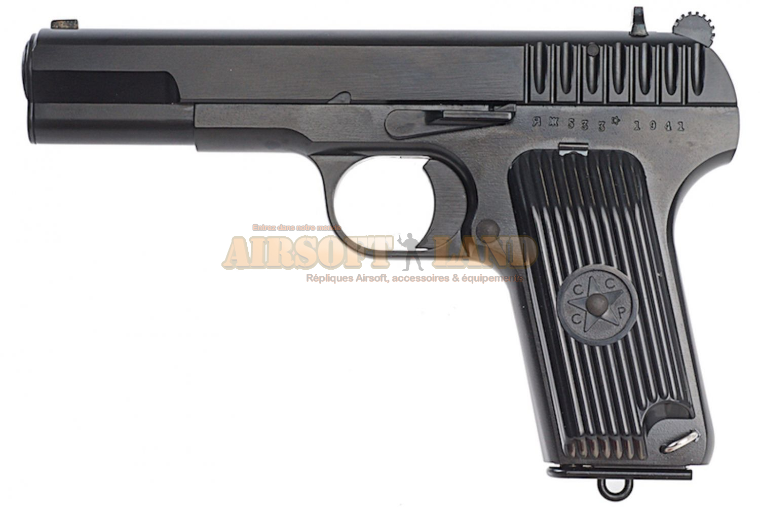 TT33 Model Tokarev KWC CO2 Culasse Fixe