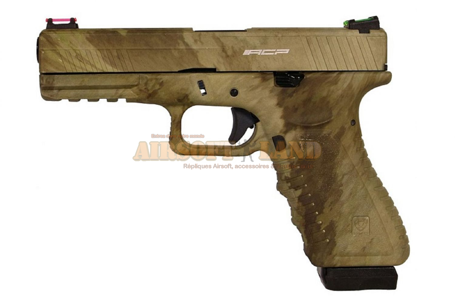 APS S17 A-TACS AU Pistol Gas Version