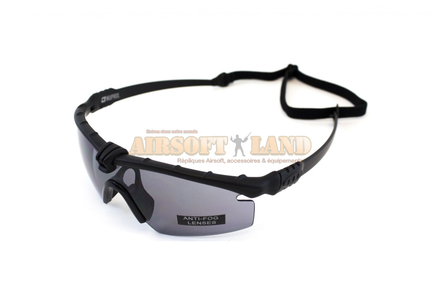 LUNETTES BATTLE PRO THERMAL NOIR/SMOKE NUPROL