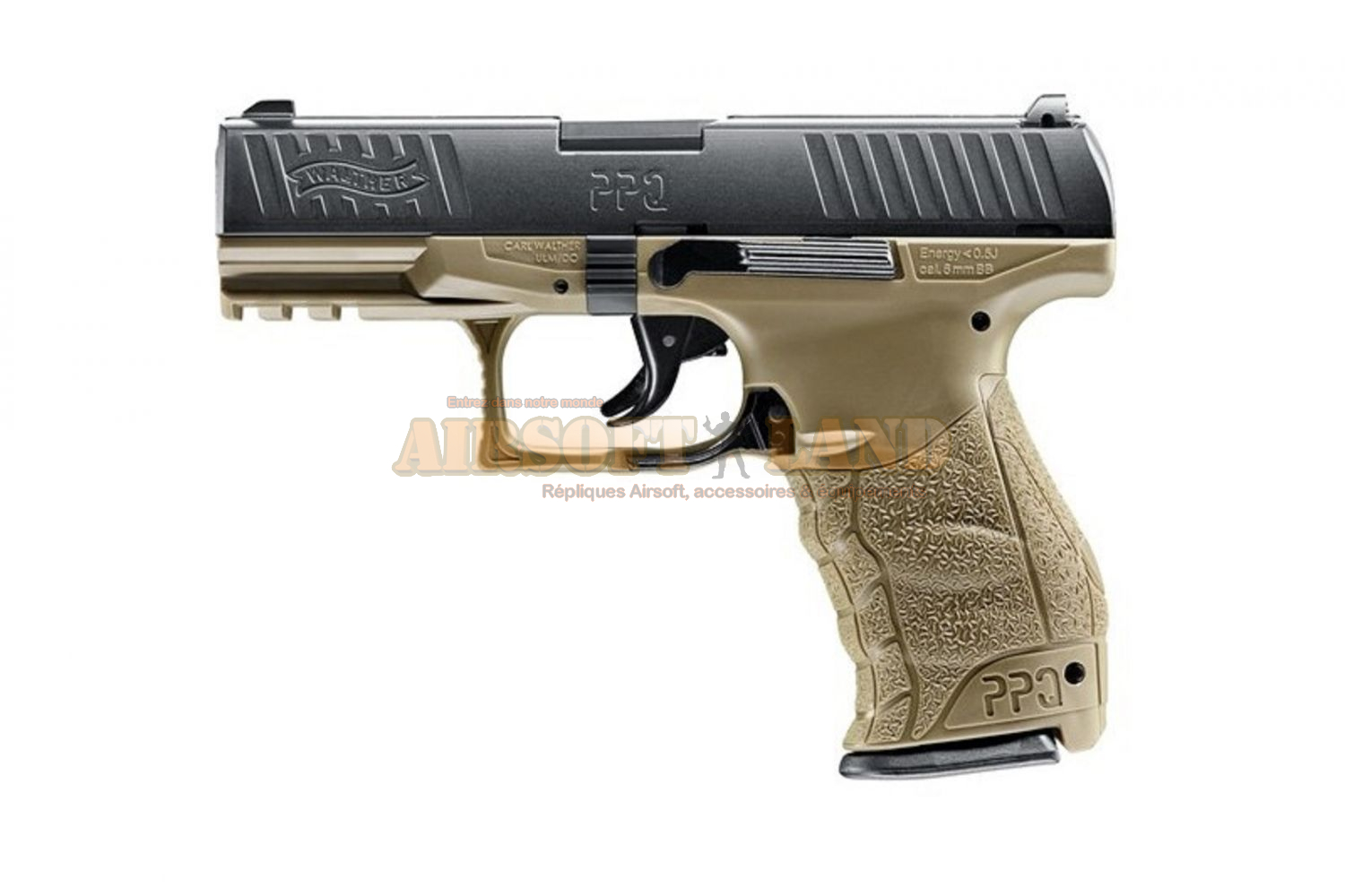 WALTHER PPQ spring RAL 8000