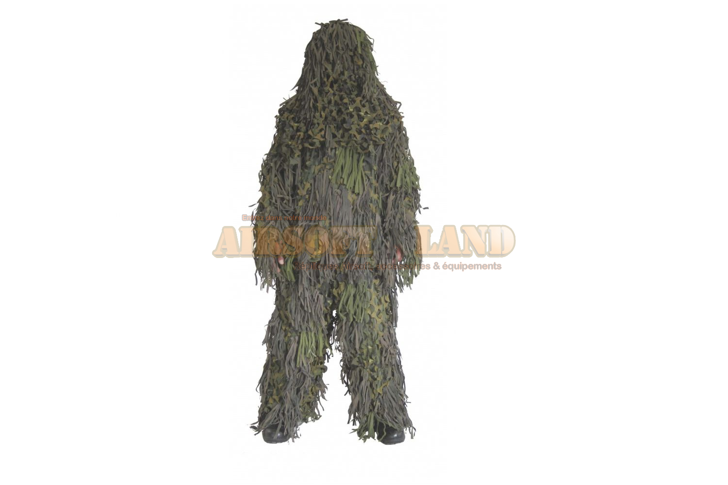 Ghillie suit jackal