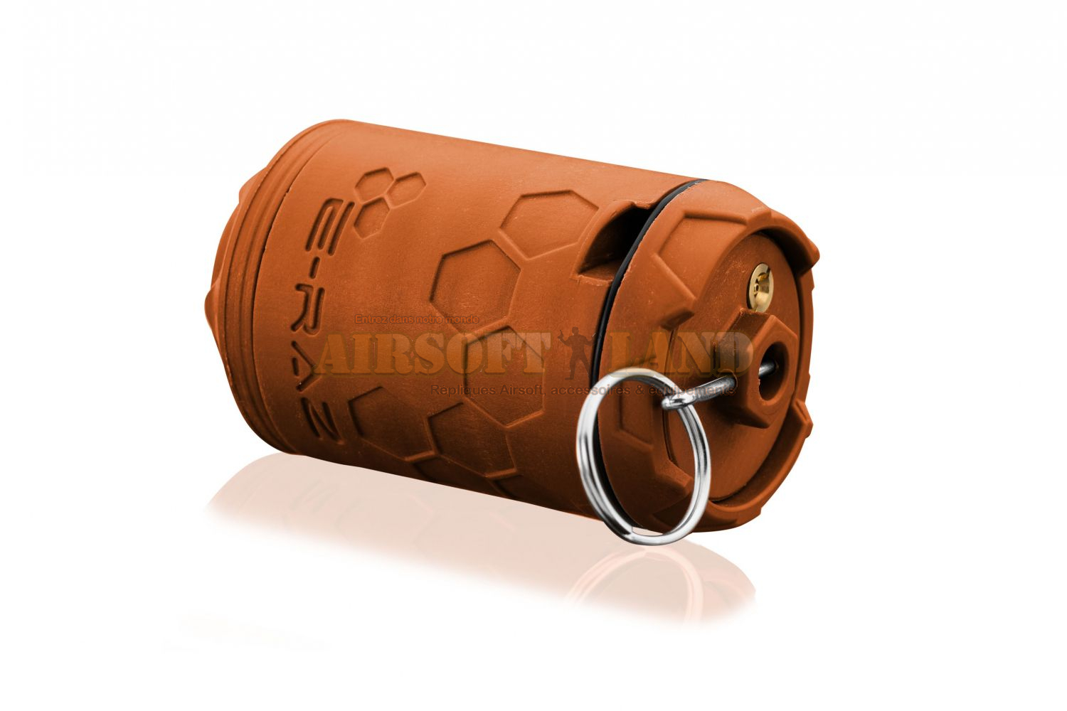 Grenade gaz E-RAZ urban orange