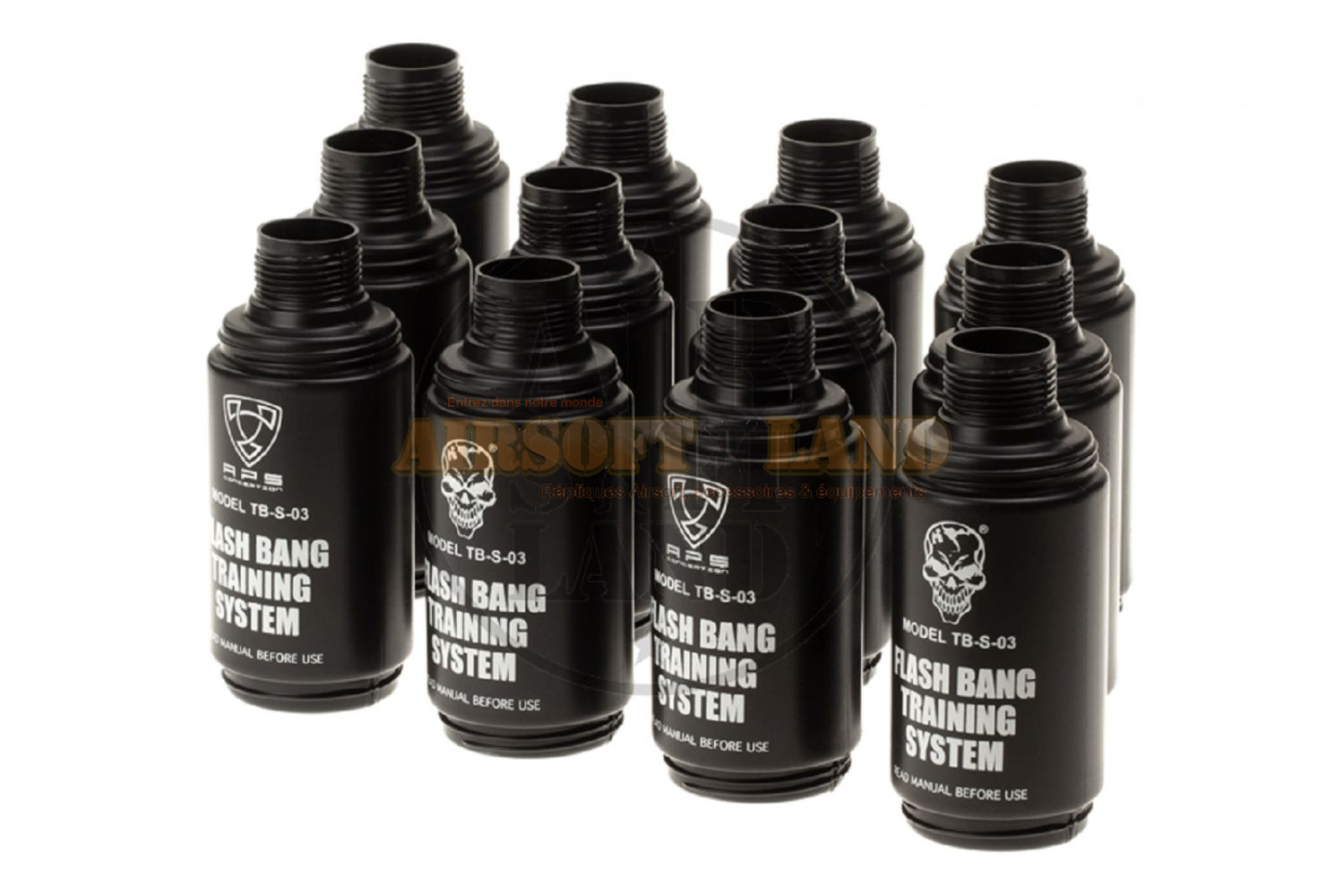 Coques pour grenade type flashbang Thunder-B (x12)