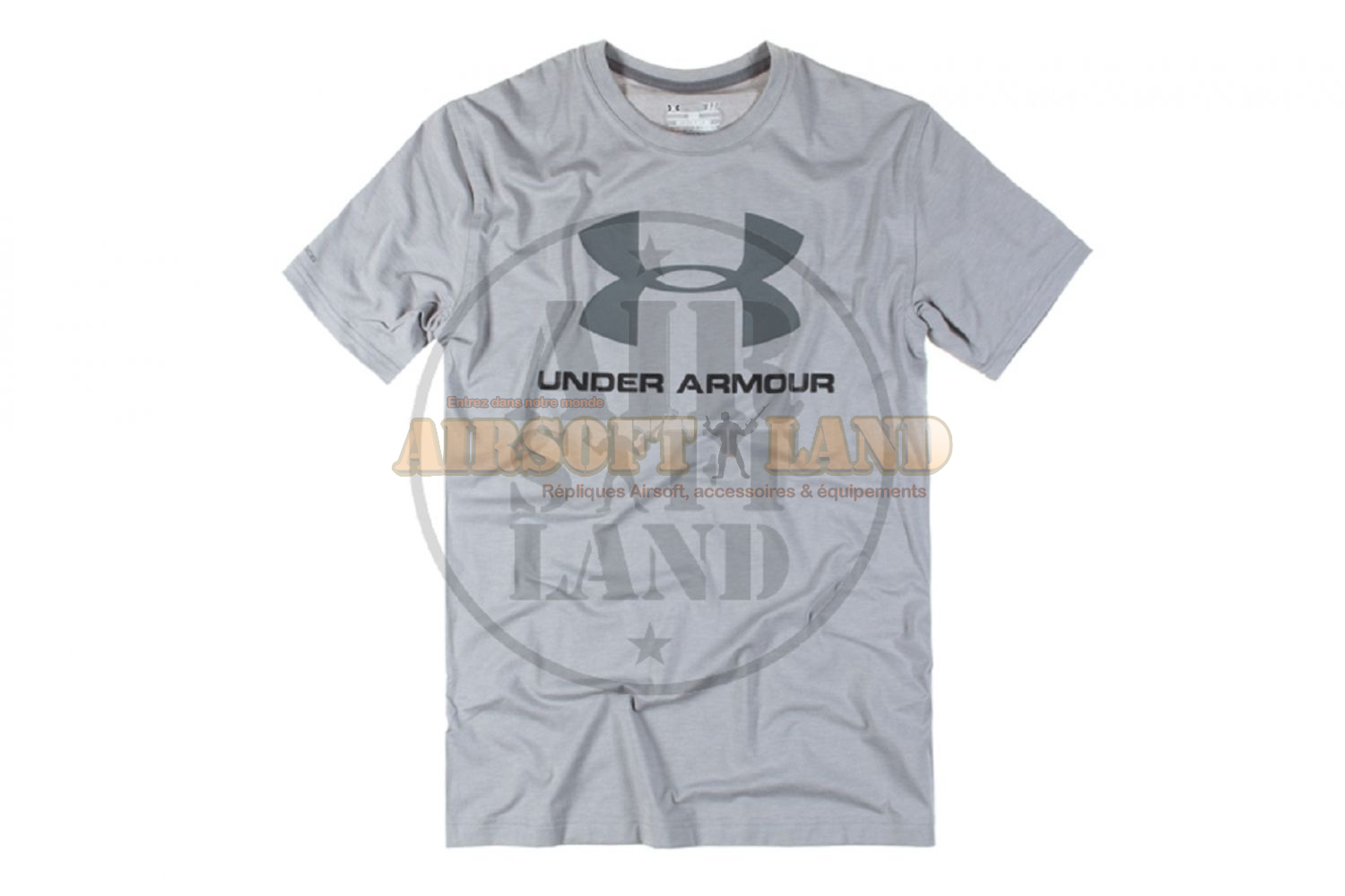 T-shirt Under Armour sportstyle logo gris