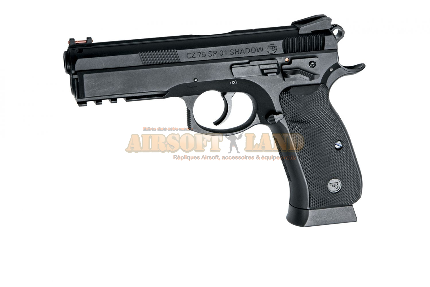 CZ75 SP-01 Shadow Airgun 4.5 mm (billes acier)