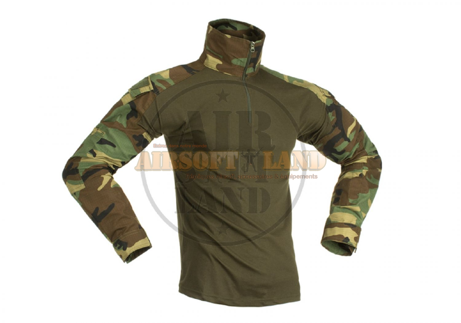Combat Shirt woodland invader gear
