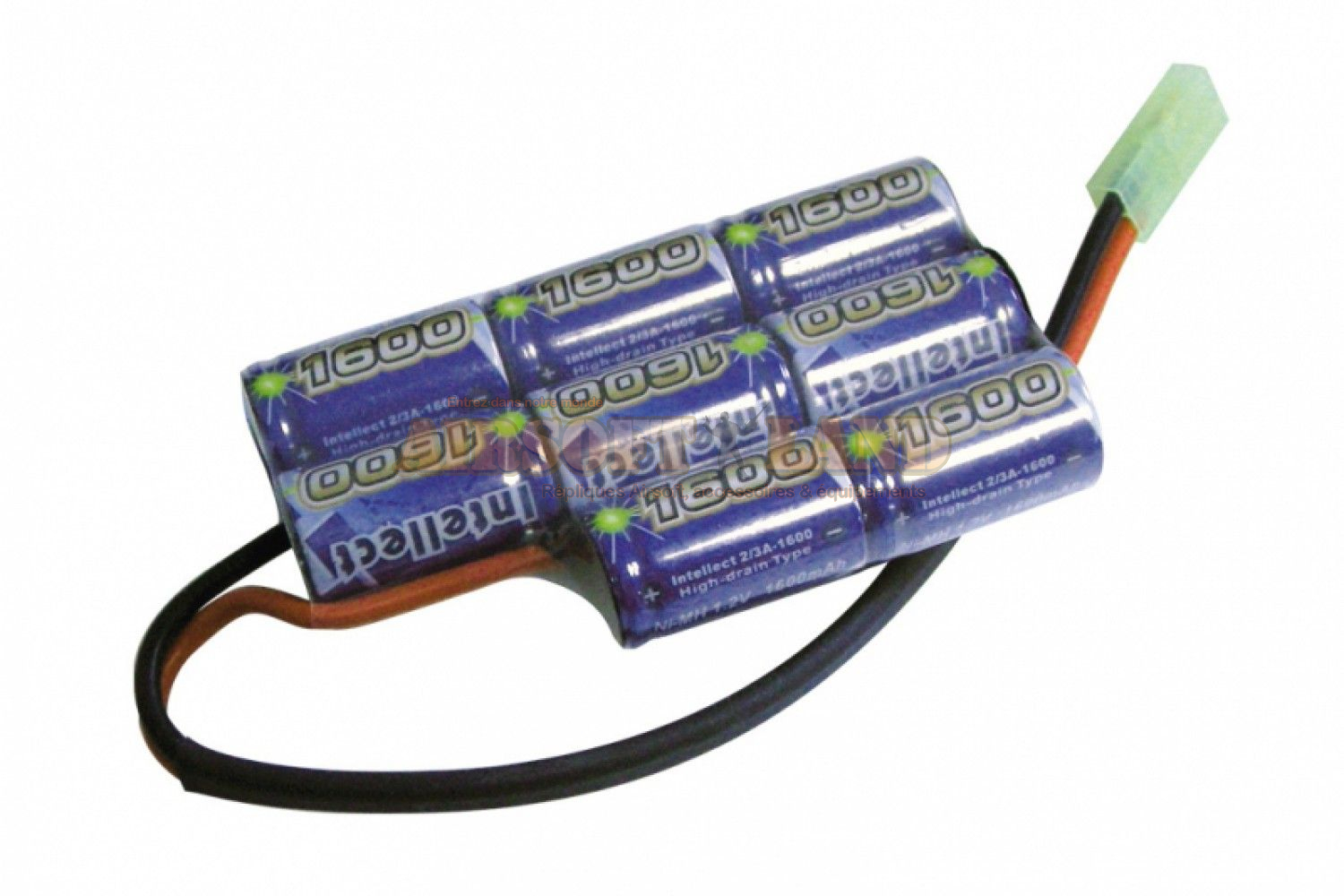 batterie Intellect 9.6/1600 boitier PEQ