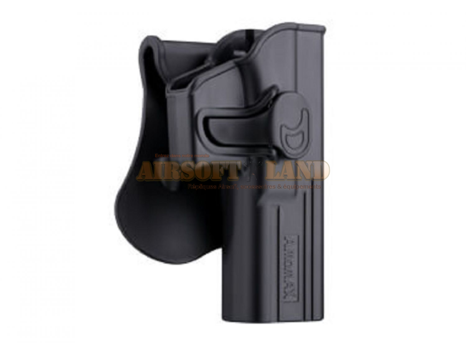 Paddle holster Amomax pour modeles Beretta M9/M92