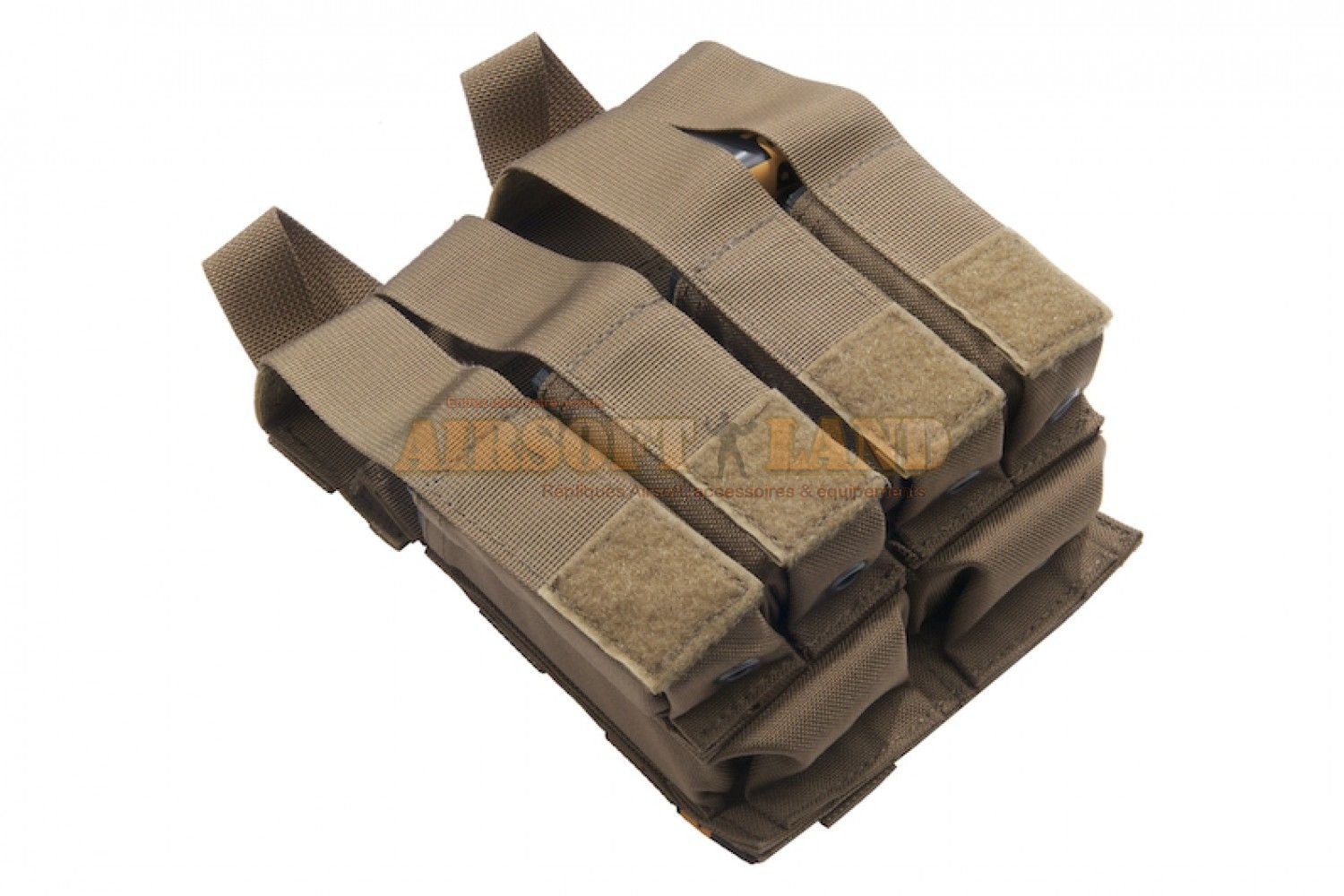Kit MOLLE pouch dual M4/PA PANTAC coyote brown