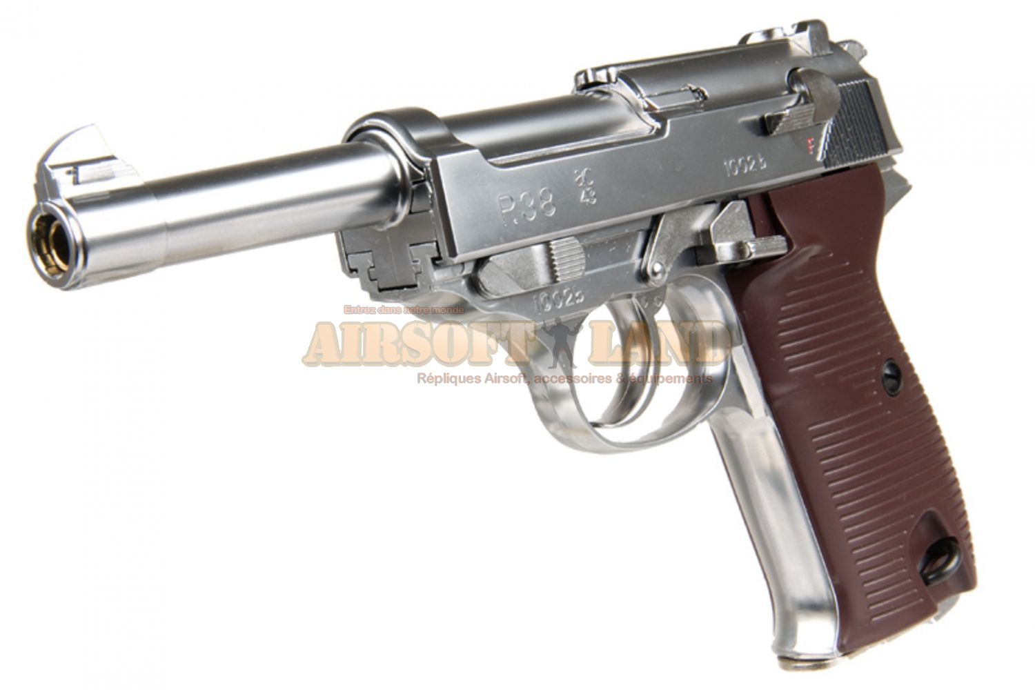 Walther P38 Silver gaz