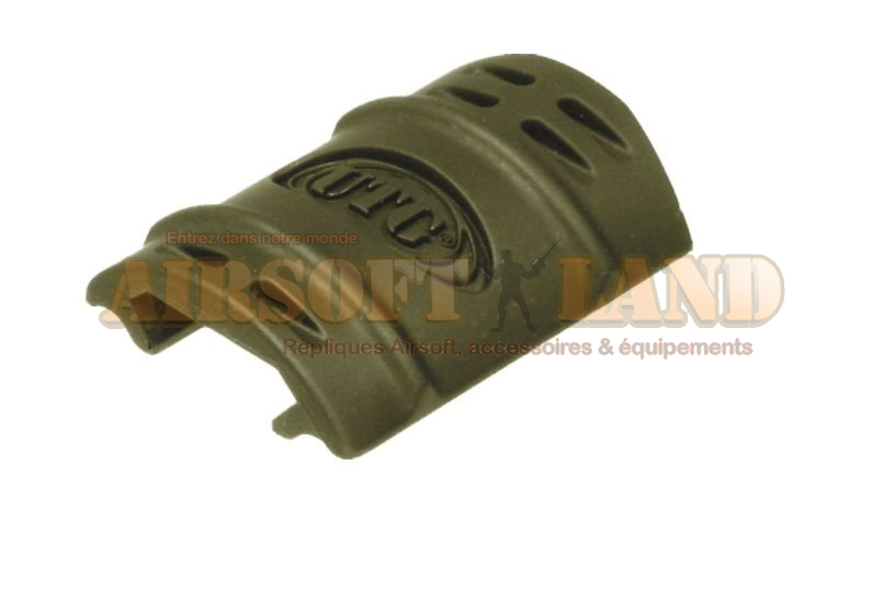 Cache rail UTG caouthouc olive x12
