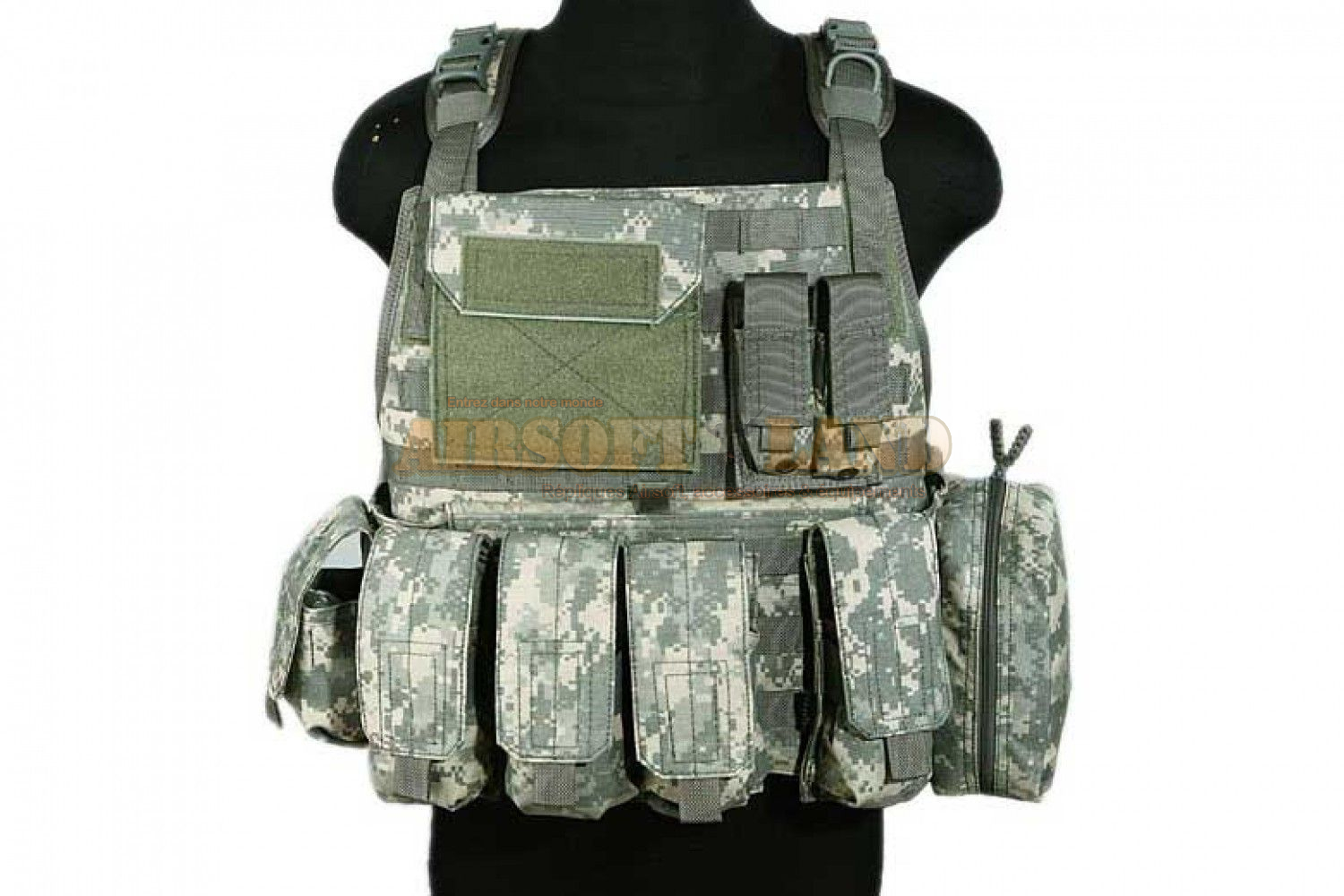 PANTAC Molle Style Plate Carrier UCP CORDURA
