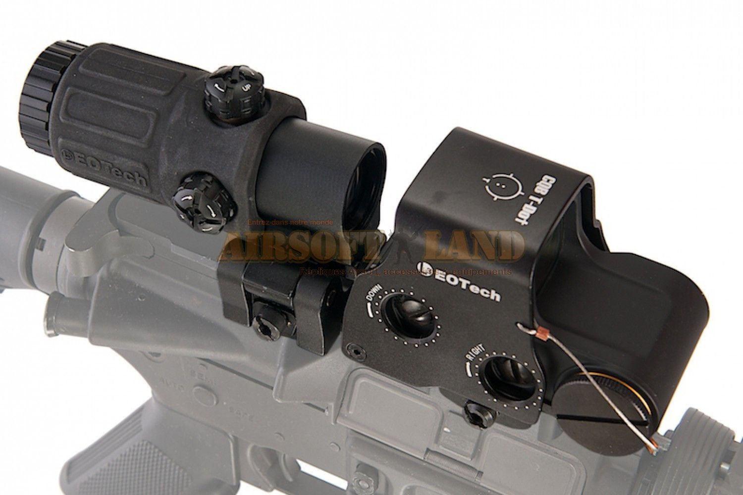 Holosight XPS3 & Magnifier G33 noir combo pack