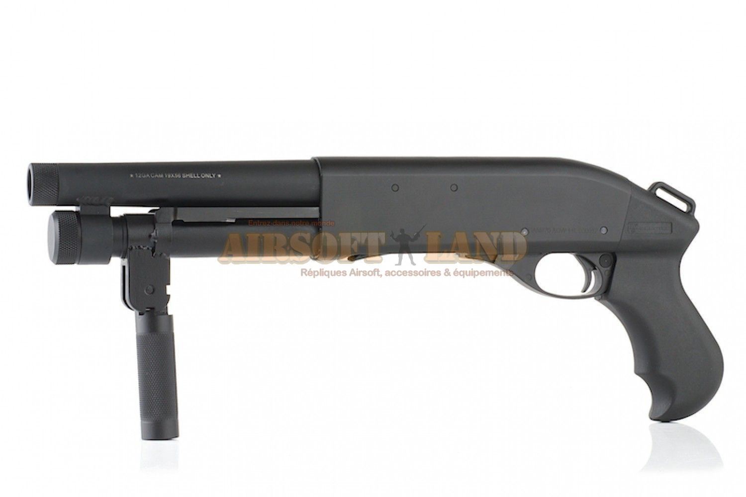 Fusil a pompe CAM 870 AOW MAGNUM (CO2 Shell Eject) A.P.S