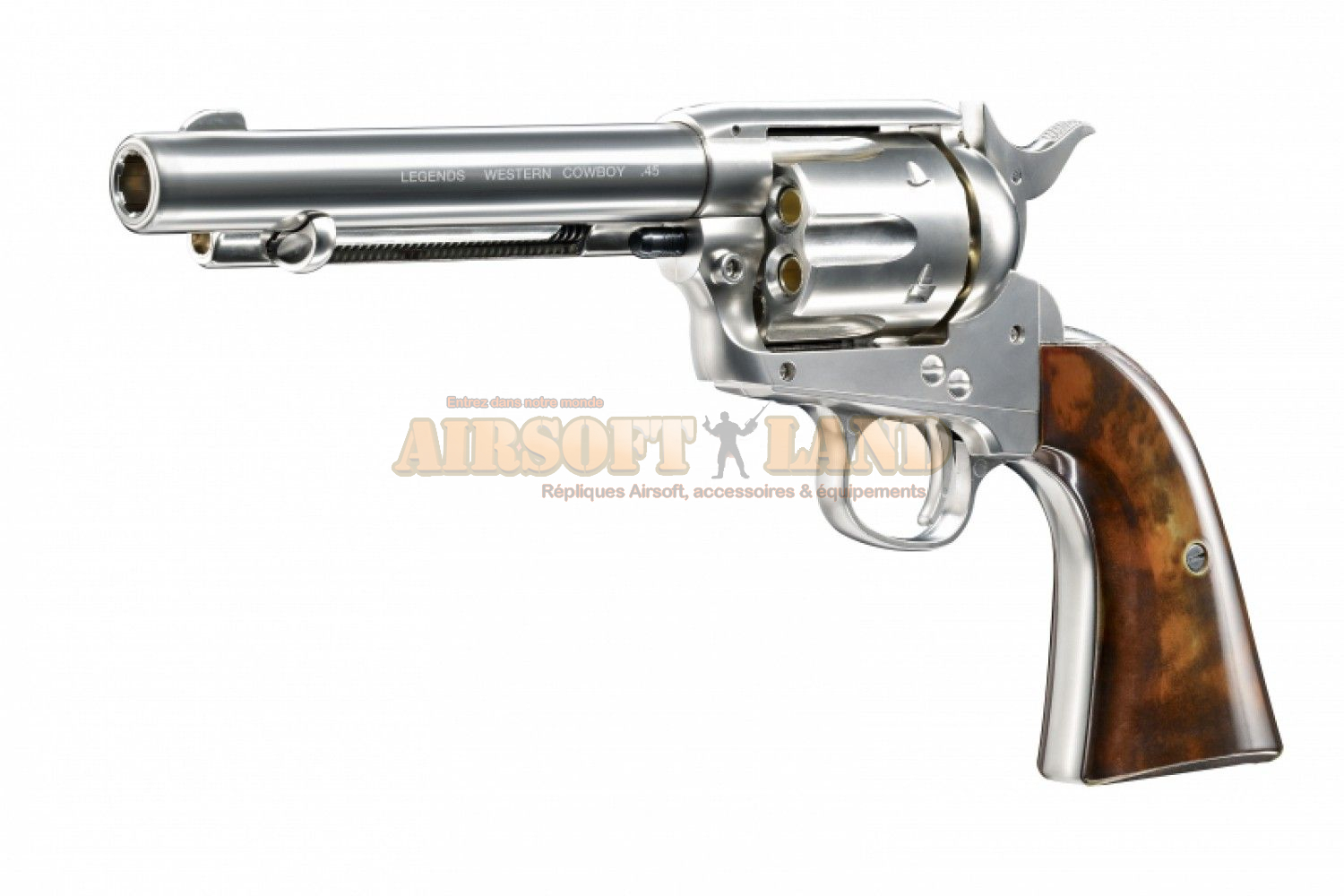 Revolver Legends type Colt single action army co²