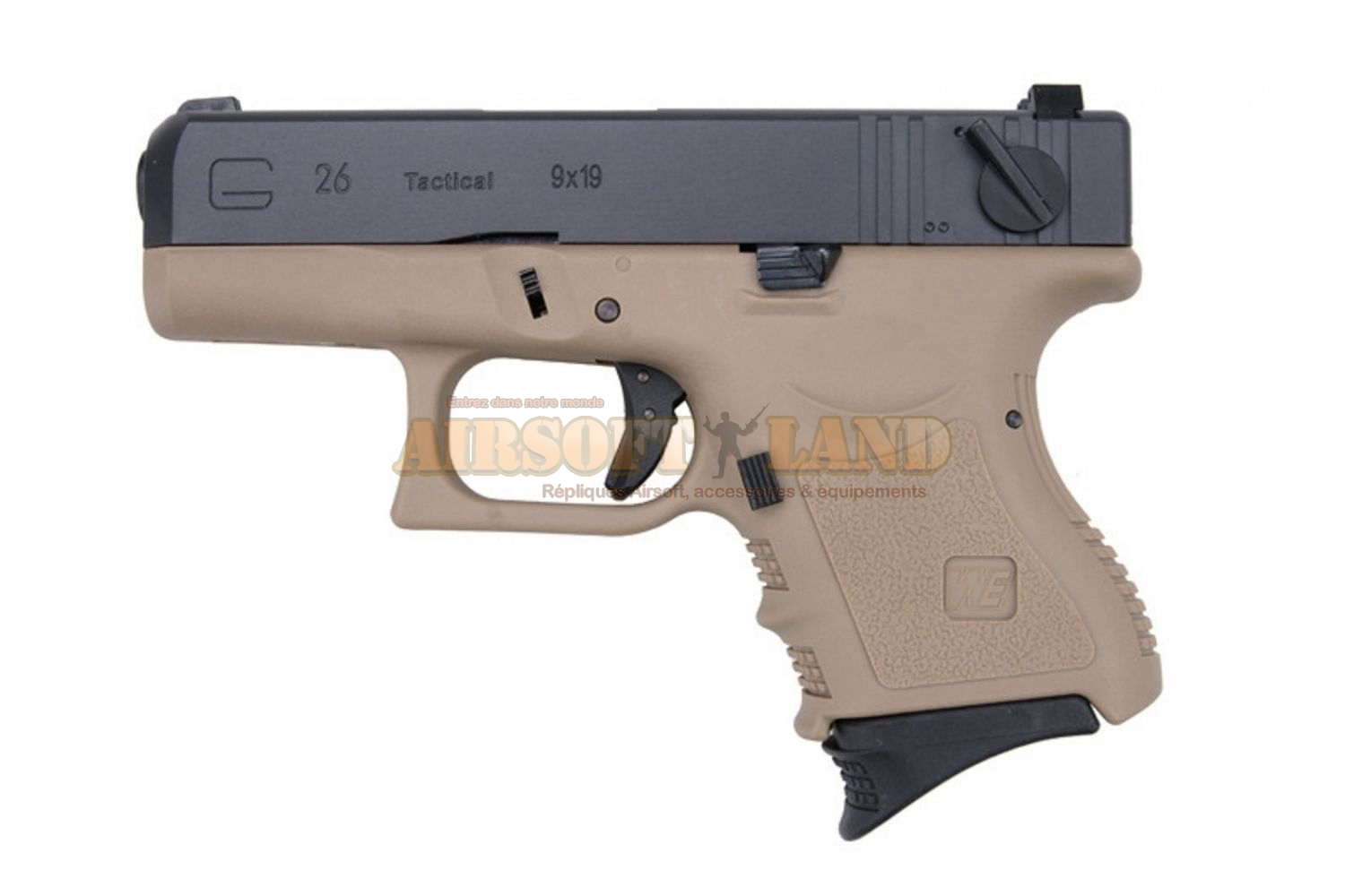 G26 WE tan/black  GBB