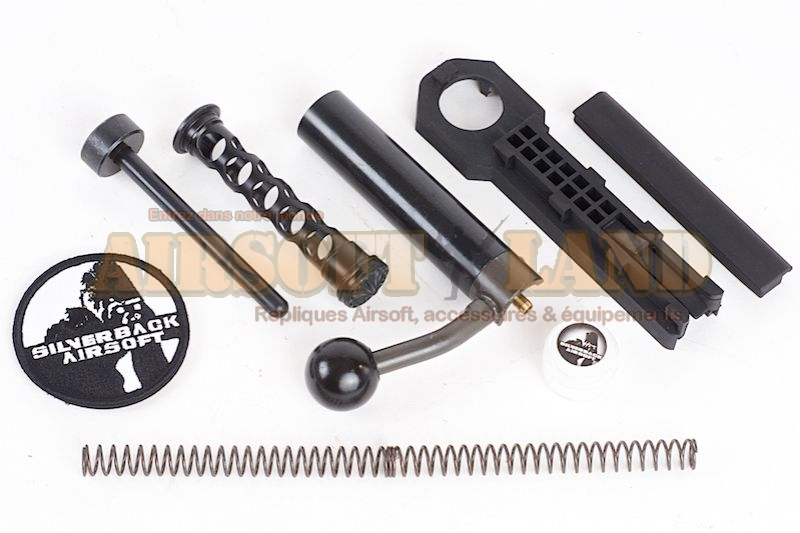 SRS Pull-back conversion kit ultralight avec Bolt Head