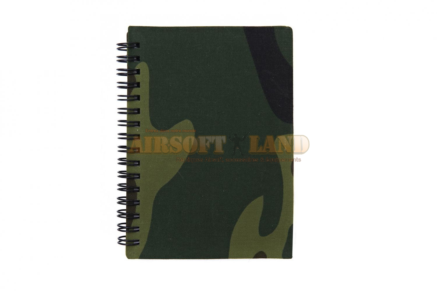 Carnet waterproof woodland a6