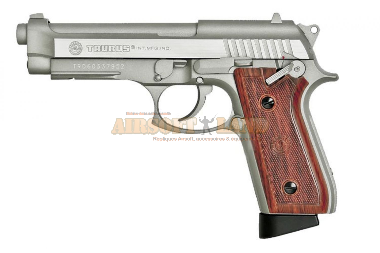 Taurus PT92 Stainless co² Blow-Back