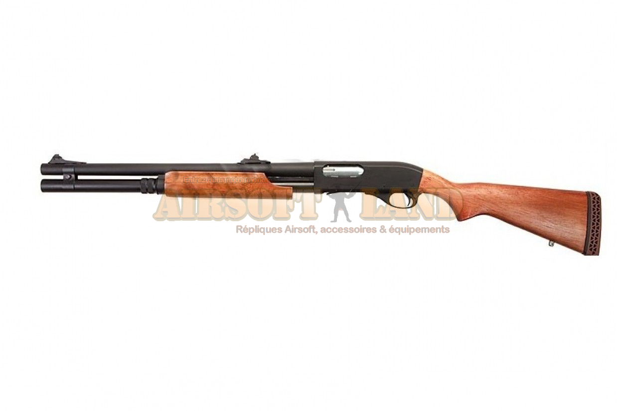 Fusil a pompe CAM870M APS (Real Wood Stock)
