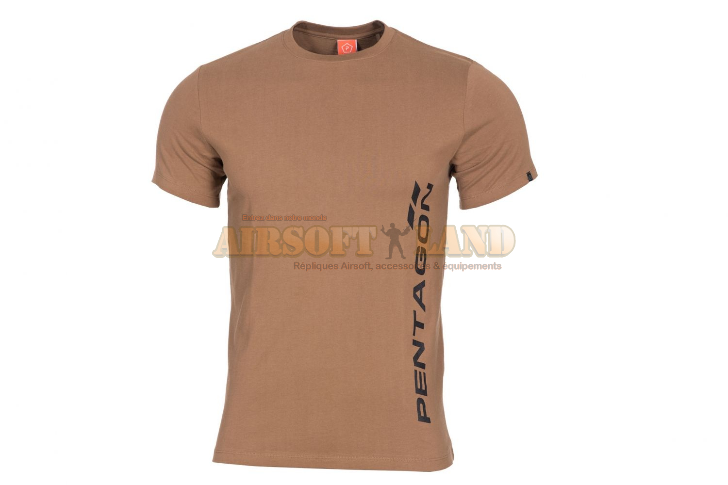 T-Shirt Pentagon VERTICAL coyote